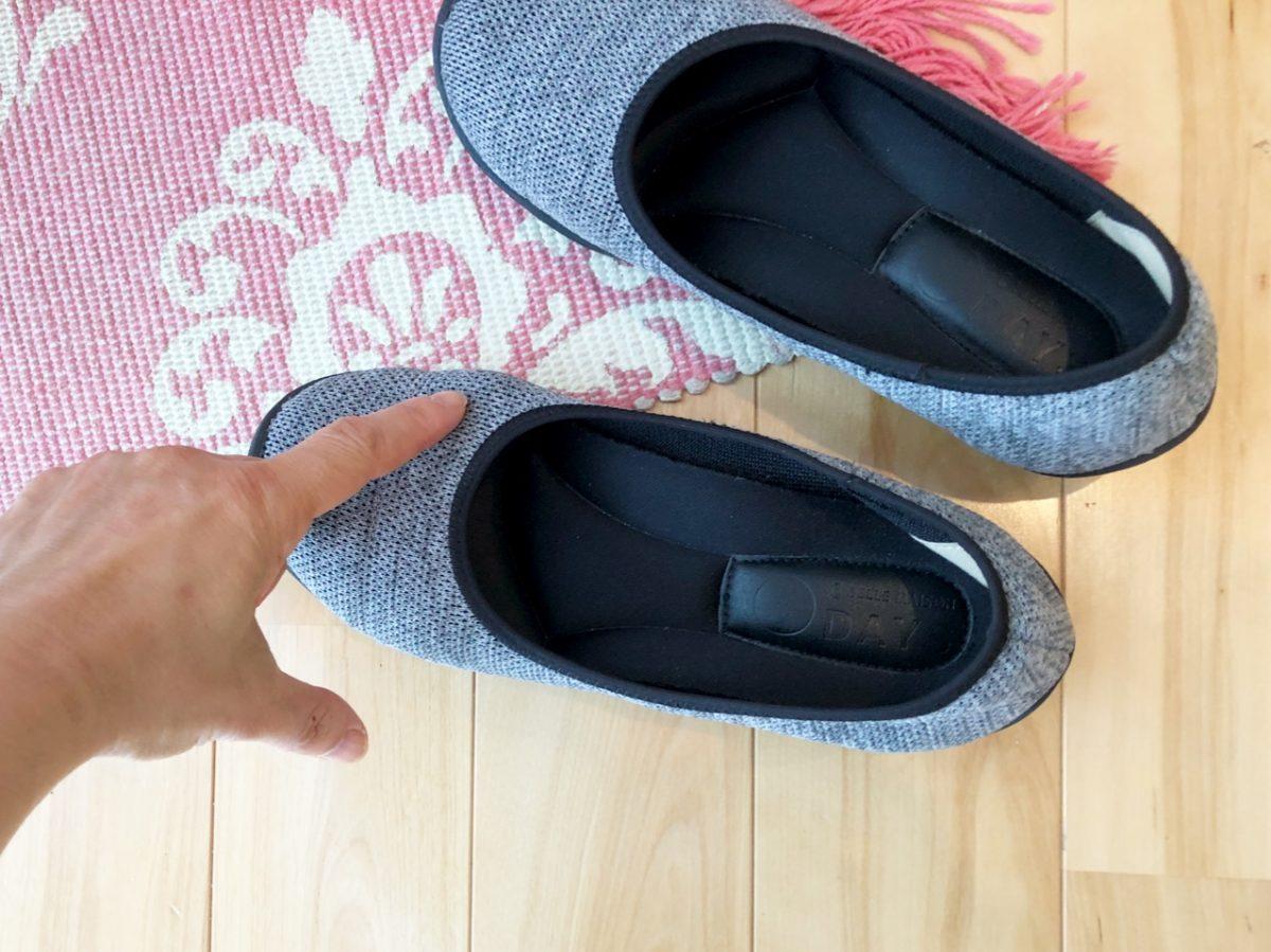 金子さんの靴