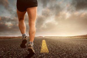 ジョギングの脚